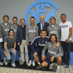COMO, ITALY - MAY 15:  Medical staff of FC Internazionale at Appiano Gentile on May 15, 2015 in Appiano Gentile Como, Italy.  (Photo by Marco Luzzani - Inter/Getty Images)